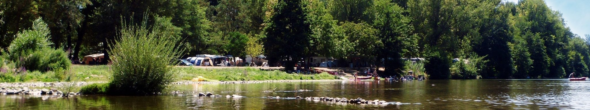 riviere le Gardon camping Beau Rivage